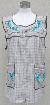 ☆メキシコ 刺繍エプロン☆お花(2)