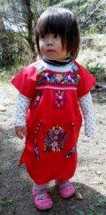 ✡子供用 メキシコ刺繍ワンピース✡70〜90サイズぐらい