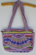 ☆メキシコ・織物バック☆ピンク
