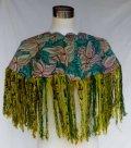 *グアテマラ・民族衣装ウィピル 機械刺繍ポンチョ*