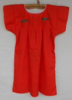 画像4: ✡子供用 メキシコ刺繍ワンピース✡着丈60cm