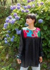 ✡メキシコ アグアカテナンゴ村 手刺繍 ブラウス チュニック✡