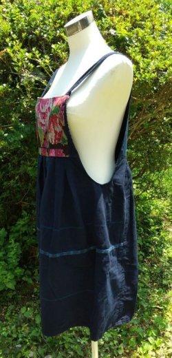 画像2: グアテマラ オーバーオールスカート サロペスカート