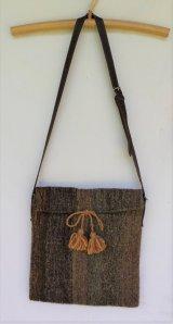 メキシコ 羊毛 手織り ショルダー バッグ